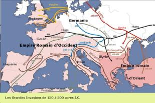 invasions du IIe au Ve siècle