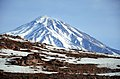 Iran - Mazandaran - Damavand Volcano View from Rineh Road - panoramio.jpg