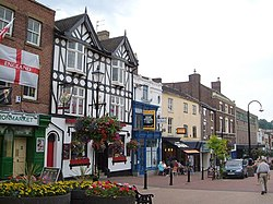 Ironmarket, Newcastle-Under-Lyme - geograph.org.uk - 2101001.jpg