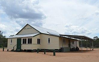 Ironpot, Queensland (South Burnett Region) - Farmers hall at Ironpot