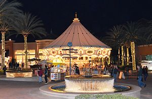 Irvine Spectrum - The carousel