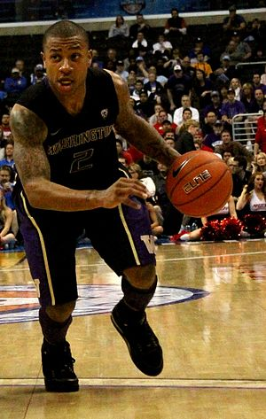 Isaiah Thomas (basketball) - Thomas with the Washington Huskies in 2011