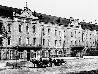 Saint Petersburg Imperial University - The building of the St. Petersburg Imperial University (1900)