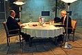 Israeli Prime Minister Netanyahu, Secretary Kerry Share Dinner in Jerusalem (11758456324).jpg