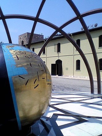 Istanbul Museum of the History of Science and Technology in Islam - Globe of the ancient world, outside Istanbul Museum of the History of Science and Technology in Islam
