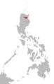 Itawit language map.png