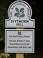 Ivythorn Hill Sign - geograph.org.uk - 1448504.jpg