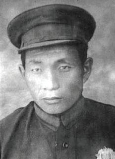 Jambyn Lkhümbe Mongolian politician