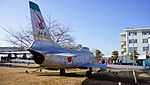 JASDF F-86D(84-8111) right rear view at Komaki Air Base February 23, 2014.jpg