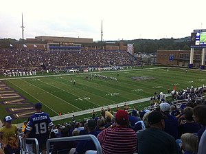 James Madison Dukes football - JMU vs. Central Connecticut, 9/10/2011