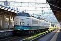 JRE 485 T-13 set Hokuetsu Naoetsu Station 2014-09-07.jpg