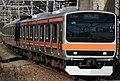 JR East E231-0 Series No.35 Funabashi-Hoten Sta.jpg