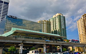 Riverplace station - Riverplace Station of the Jacksonville Skyway