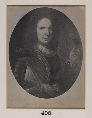 Clan Donnachaidh - Alexander Robertson, 13th chief of Clan Robertson who supported the Jacobite risings of 1689 and 1715
