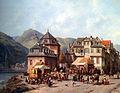 Jacques Carabain - St. Goar am Rhein.jpg