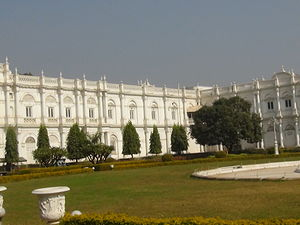 Shinde - Jai Vilas Mahal, the current residence of the Scindia family.