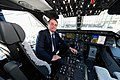 Jair Bolsonaro at the delivery ceremony of the first KC-390 for the Brazilian Air Force.jpg