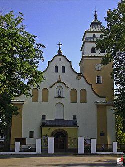 Janów, Kościół Niepokalanego Poczęcia Najświętszej Marii Panny - fotopolska.eu (276076).jpg