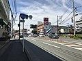 Japan National Route 495 near Fukkodai-mae Station.jpg