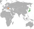 Japan Romania Locator.png