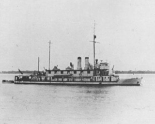 Japanese gunboat <i>Seta</i>