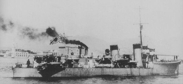 Japanese patrol boat PB101 in 1942