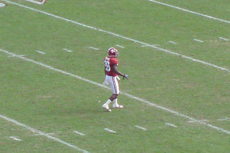 2009 Alabama Crimson Tide football team - Javier Arenas returned a kickoff for touchdown in the second quarter.