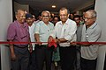 Jayanta Sengupta Cuts The Ribbon - Objects In CRTL Archive Exhibition Inauguration - NCSM - Kolkata 2018-05-18 0595.JPG