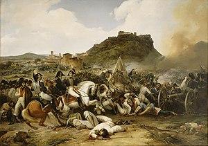 Battle of Castalla (1812) - Battle of Castalla, 21 July 1812, by Jean-Charles Langlois
