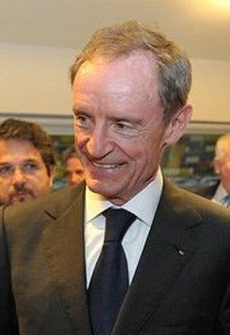 Jean-Claude Killy - Killy in May 2012