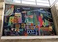 Jean Varda tile murals at Union City station (1), January 2020.JPG