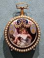Jean fazy & sons, orologio da tasca, svizzera 1800 ca, oro, smalti e perle.jpg