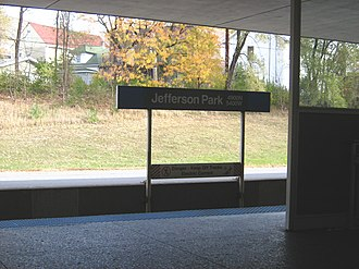 Jefferson Park Transit Center - Image: Jefferson Park CTA