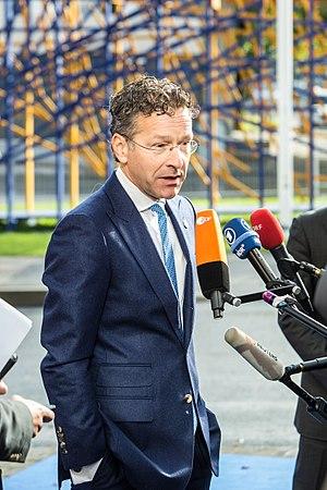 Eurogroup - Eurogroup President Jeroen Dijsselbloem.
