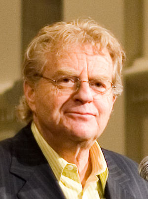 Jerry Springer - Springer giving a speech at Emory University in 2007