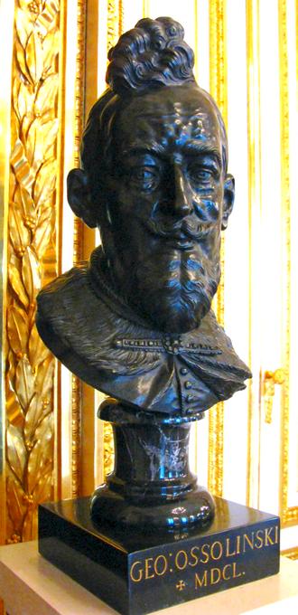 Jerzy Ossoliński - Bust of Jerzy Ossoliński at the Warsaw Royal Castle