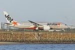 Jetstar Airways (VH-VKH) Boeing 787-8 Dreamliner at Sydney Airport.jpg