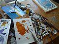 Jim's Art Desk (4462910289).jpg