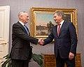 Jim Mattis with Sauli Niinistö - 171106-D-GY869-059 (38180548202).jpg