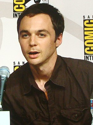 Jim parsons is the only guy who can look cute at 41 I guess :)