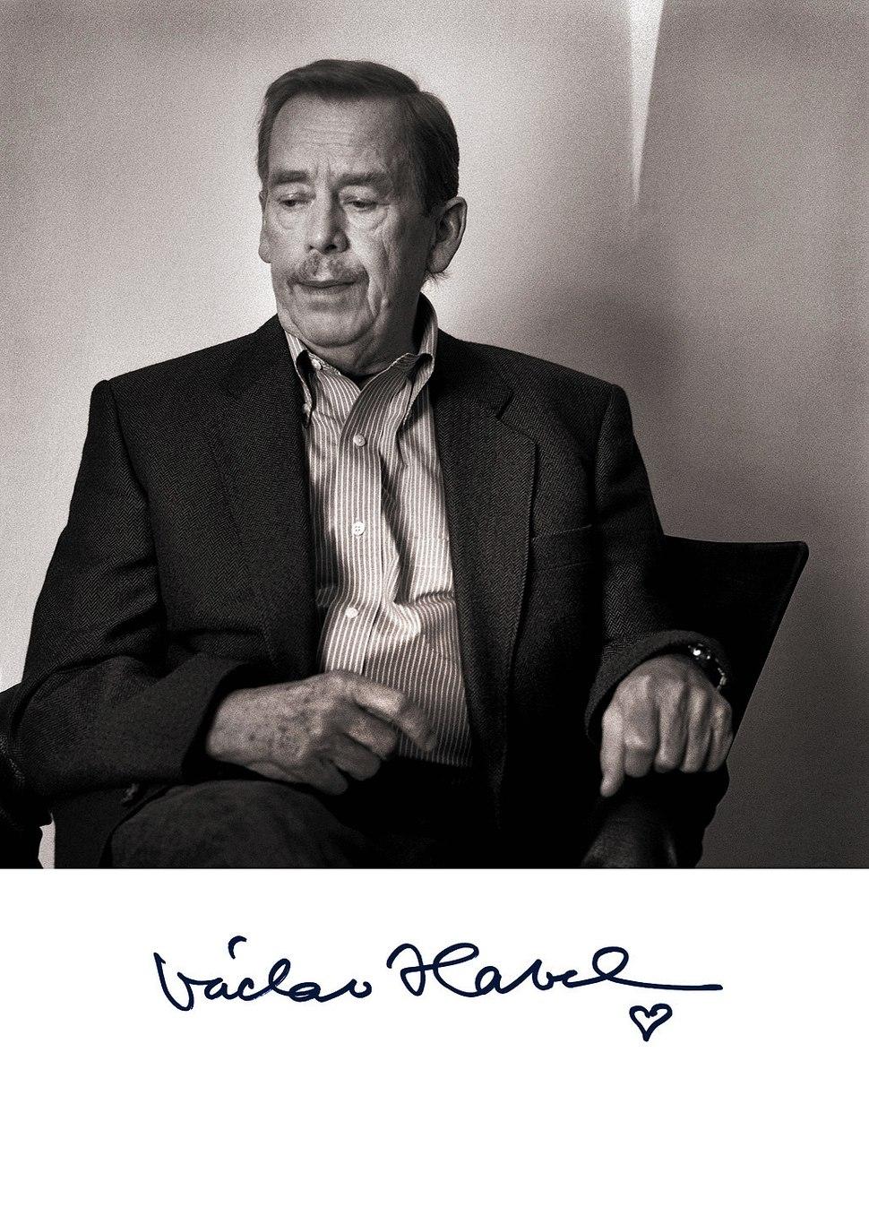 Jiri Jiroutek Havel Vaclav, Praha 2006