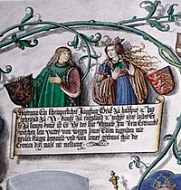 Joan of Acre, with her betrothed Hartman of Germany.jpg