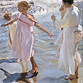 Joaquín Sorolla y Bastida - Time for a Bathe, Valencia - Google Art Project.jpg