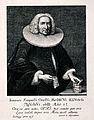 Johann Kaspar Oeri. Reproduction of line engraving by J. U. Wellcome V0004352.jpg