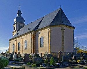 Die Kirche Johannes' Enthauptung in Johannesberg