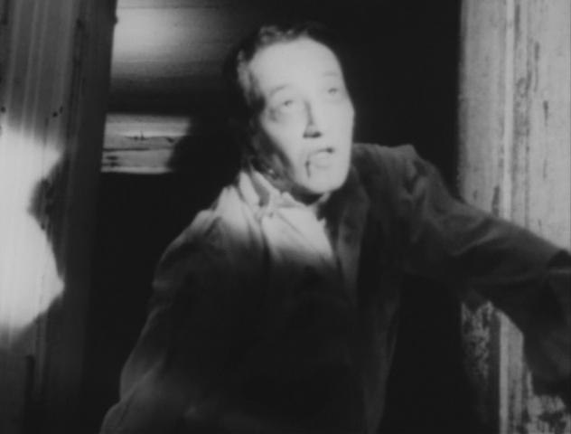 John A. Russo as zombie in Night of the Living Dead