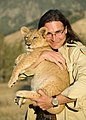 John Banovich, with Lions, Founder BWF.jpg
