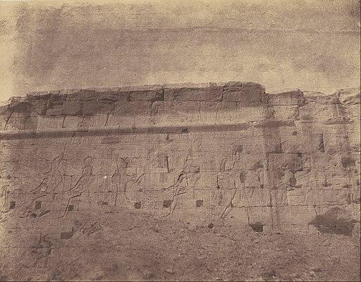 John Beasly Greene (American, born France - (Edfou, Sculptures et Inscriptions de la Façade Orientale du Mur d'Enceinte) - Google Art Project (6832099)