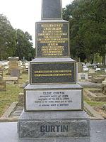 John Curtin's grave at Karrakatta Cemetery.