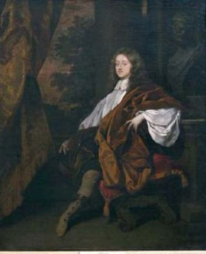 John Egerton, 2nd Earl of Bridgewater - John Egerton, 2nd Earl of Bridgwater by Peter Lely, 1665